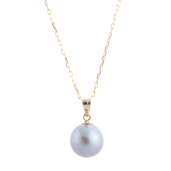 68d442b8c1cb5 PRE-Single Pearl Necklace with Gold Chain (3 colors)